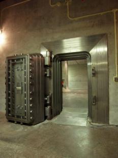 Diefenbunker Bank Vault.
