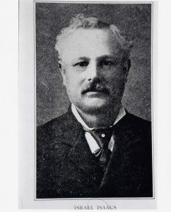 Portrait officiel en noir et blanc d'un homme portant une moustache.