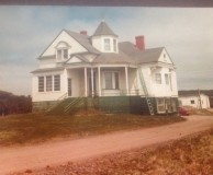 The Priest's House where Rita Murphy worked in St. Bride's, NL