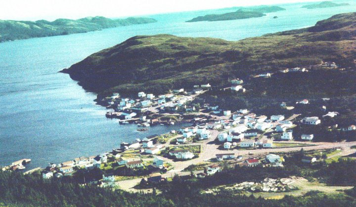 View from the highest point in Parkers Cove