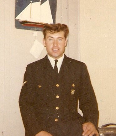 Al Murphy in Uniform