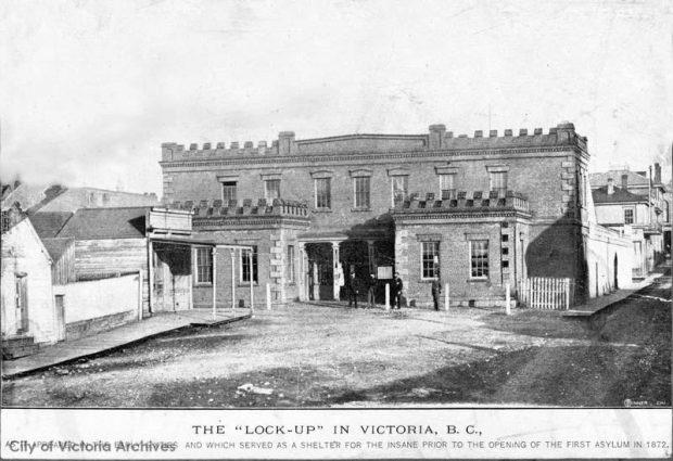 1850's colonial brick building