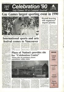 Bulletin officiel de Celebration '90