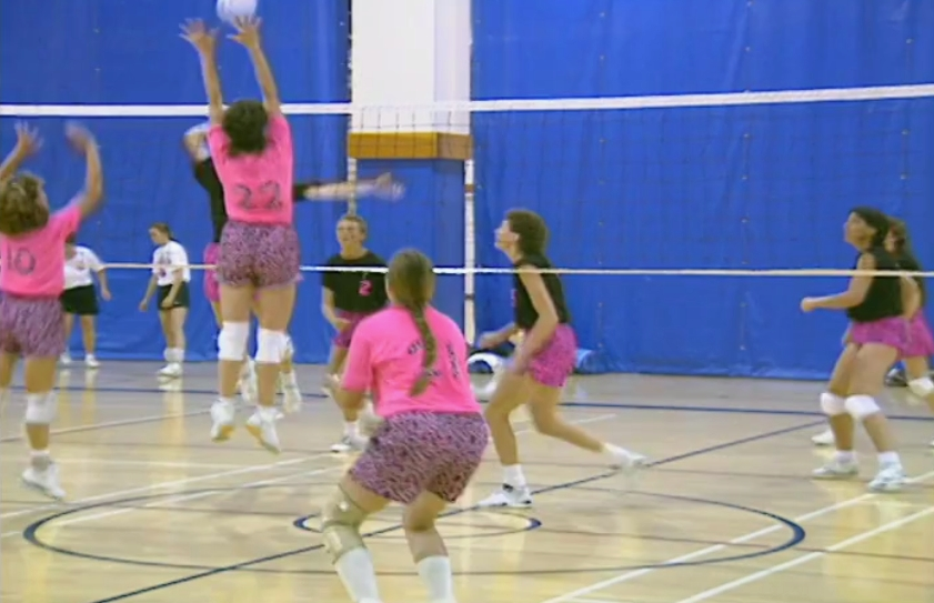 Team Vancouver Women's Volleyball Team Competes