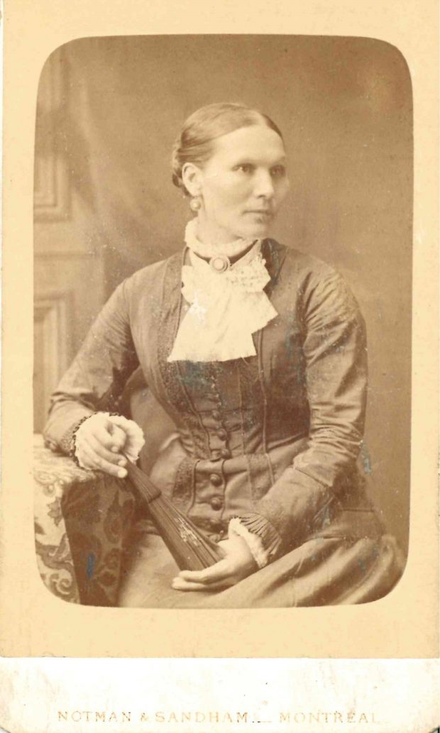 Photograph of Mary Ann Allen, Belle Lougheed's mother.