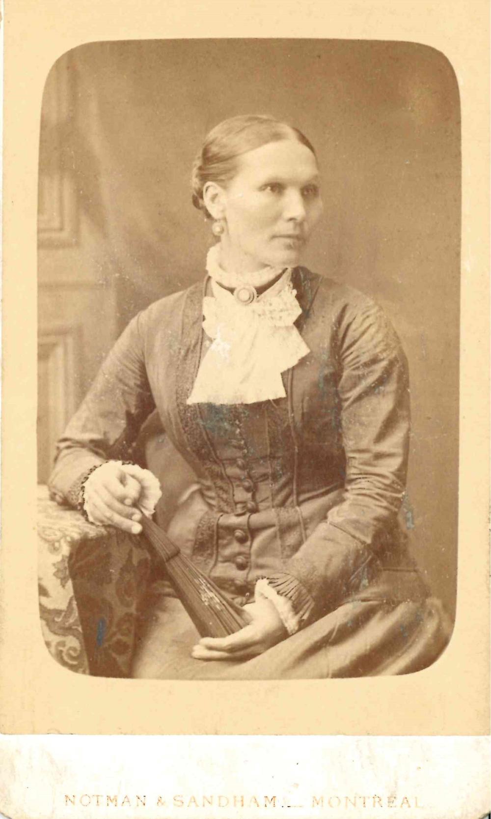 Photo de Mary Ann Allen, la mère de Belle Lougheed.
