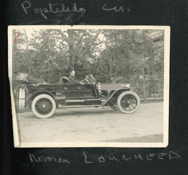 Norman Lougheed and the PopeToledo car