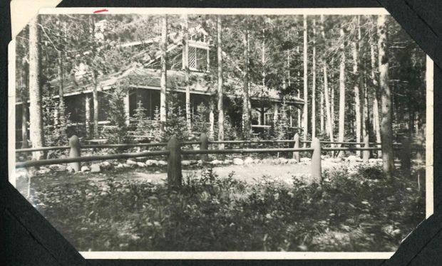 Isabella's cottage in Banff