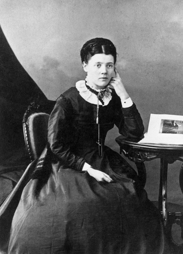 Photo of Eliza McDougall, wife of Richard Hardisty