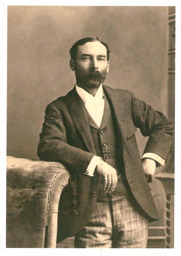 Photo of James Lougheed as a young man