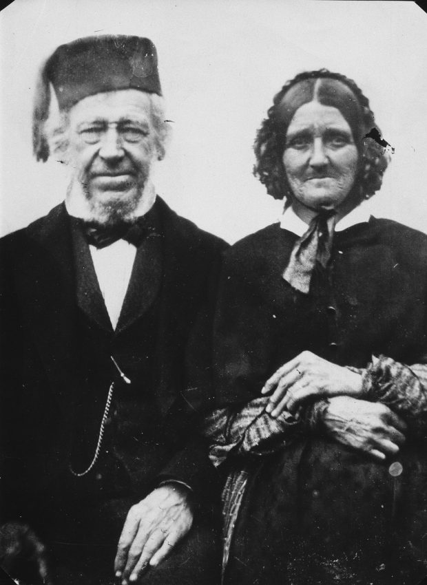Photo of Richard Hardisty Sr and Marguerite Sutherland