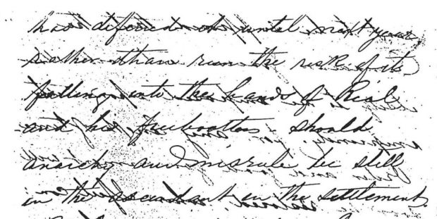 Handwritten letter (see Gallery Page for content)