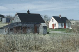 A house and barn in West Chezzetcook
