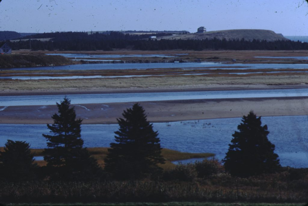 Lawrencetown beach at low tide in Cole Harbour