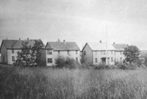 Four buildings of the County Home