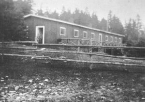 A building at Rainbow Haven camp