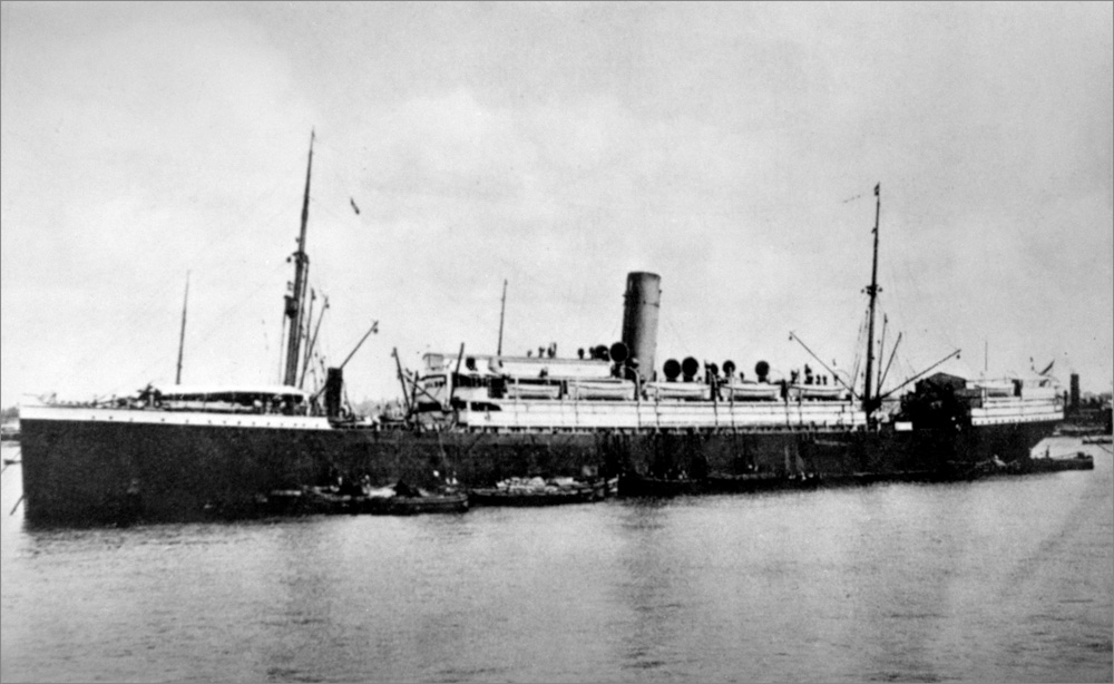 Photograph of a steamship