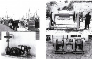 Products that were offered during the  1960's, under Fred Porter's management.   They were focusing on equipment being used by the fishing and marine industries.