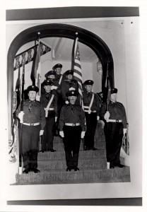Honour Guard at 1st function in August 1971.