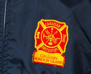 Close up of Honour Guard patch.