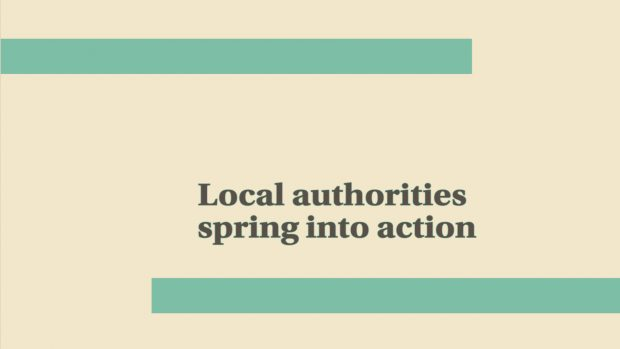 Local Authorities Spring into Action