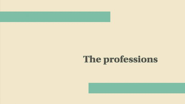 The Professions