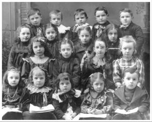 18 young schoolchildren