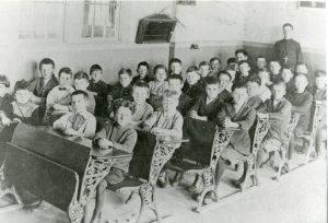 forty schoolchildren