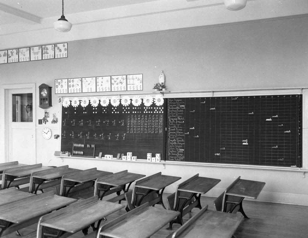 Classroom in Ste-Margurerite College