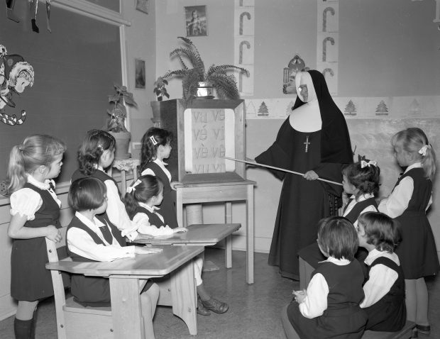 Petite Franciscaine de Marie and Their Students
