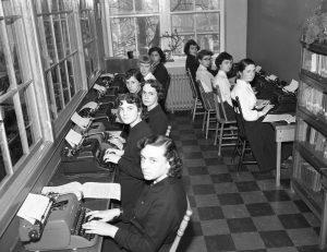 Ten teenage girls write to the machine