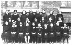 Twenty-five schoolgirls