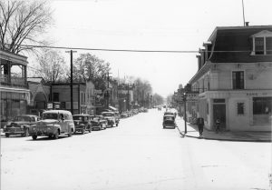 Five cars on main st.
