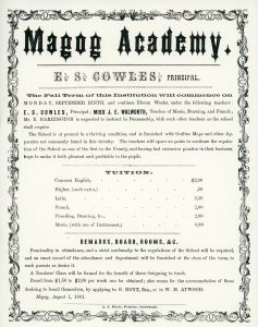 Magog Academy propectus