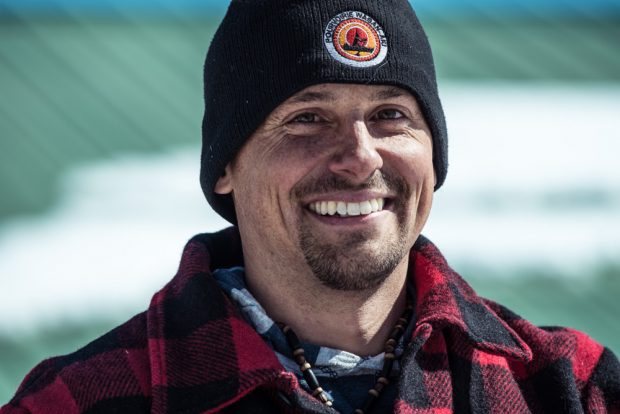 Colour photo of Bruno Caron, President of the Mauricie Outfitters Association
