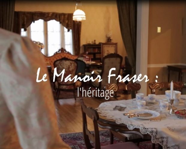 Video excerpt on what Manoir Fraser represents for three citizens involved in its restoration.