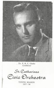 headshot of Dr. F. R. C. Clarke