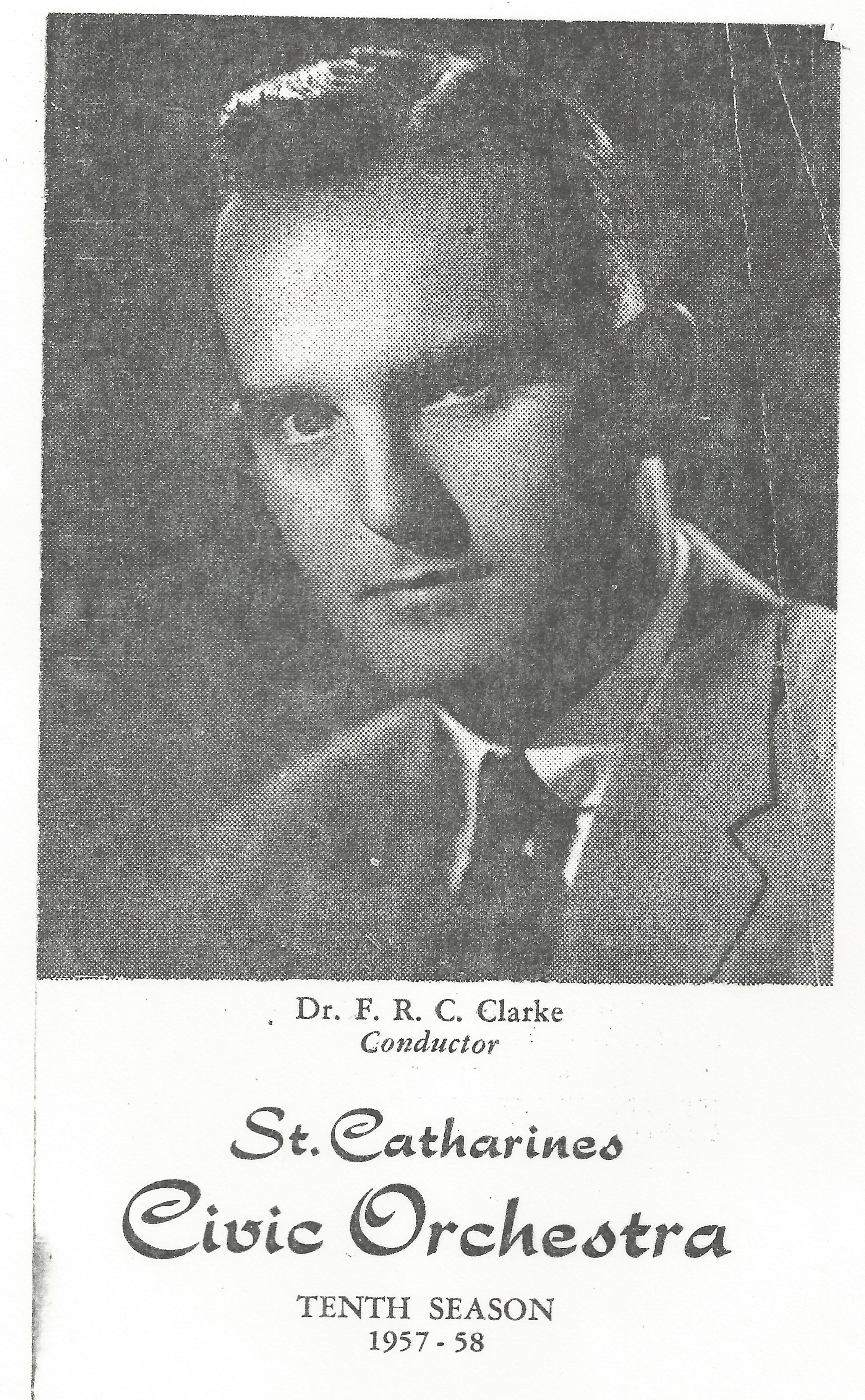 headshot of Dr. F. R. C. Clarke