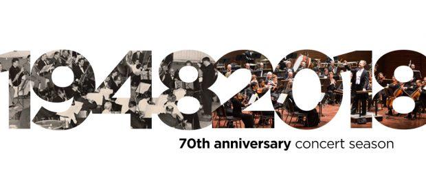 1948-2018 70th anniversary concert season