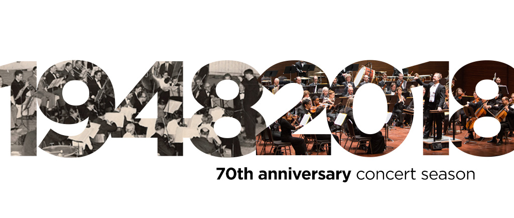 1948-2018 70th anniversary concert season