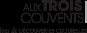 Logo noir et blanc du musée Aux Trois Couvents