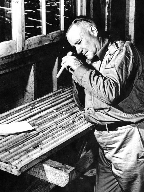 M. James Paul Norrie mining pioneer