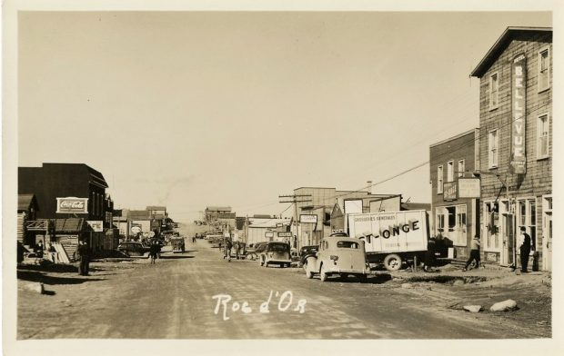Main street of Roc-d'Or in early 1940