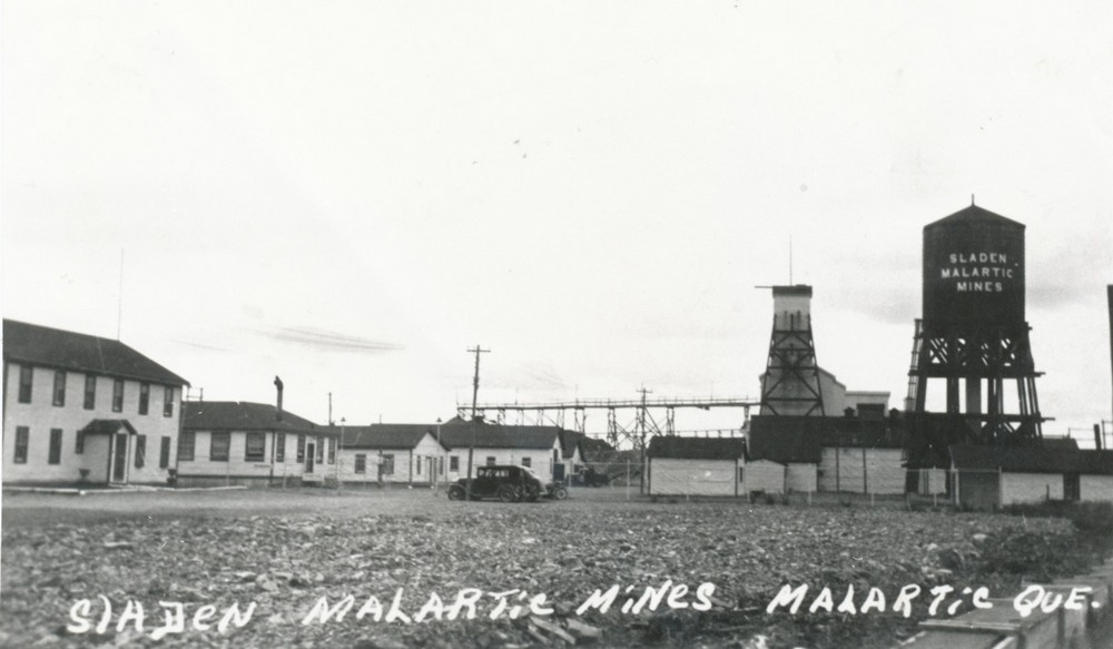 Old picture of the Barnat-Sladen Gold Mines Limited