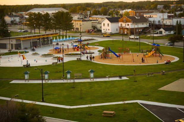 Malartic's Belvedere Park