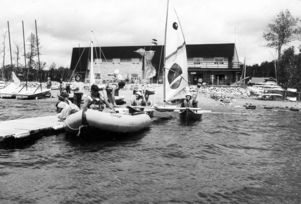Nautical activities at the Lac Mourier outdoor facility