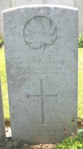 "Maj. Lawson's Military Grave, France VAC. ""Wilfred Edwin Lawson."" CVWM. Accessed 30 March 2017. Web.Allan Phillips"