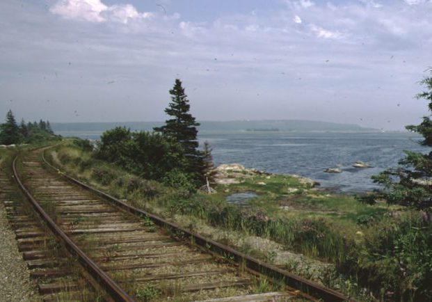 Train tracks and Cole Harbour